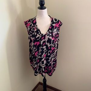 EUC Dana Buchman sleeveless blouse